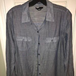 BDG light weight button down shirt